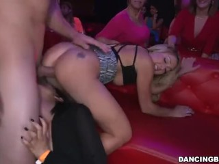 Harem fucked by young